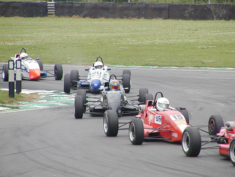 Formula Ford Zetecs battle it out