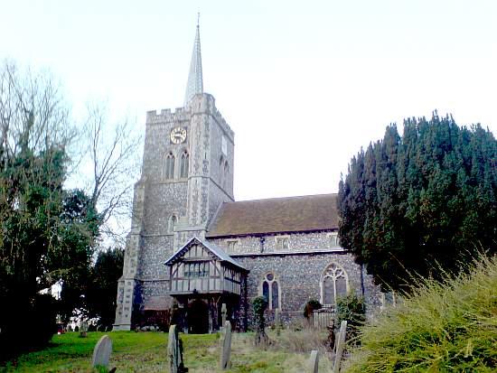 Radwinter church