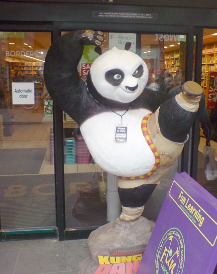Kung Fu Panda outside Borders