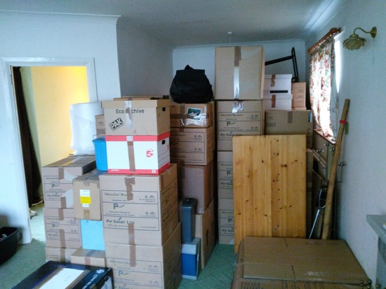Just a some of our worldly goods