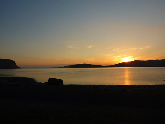 Sunset over Loch Na Keal