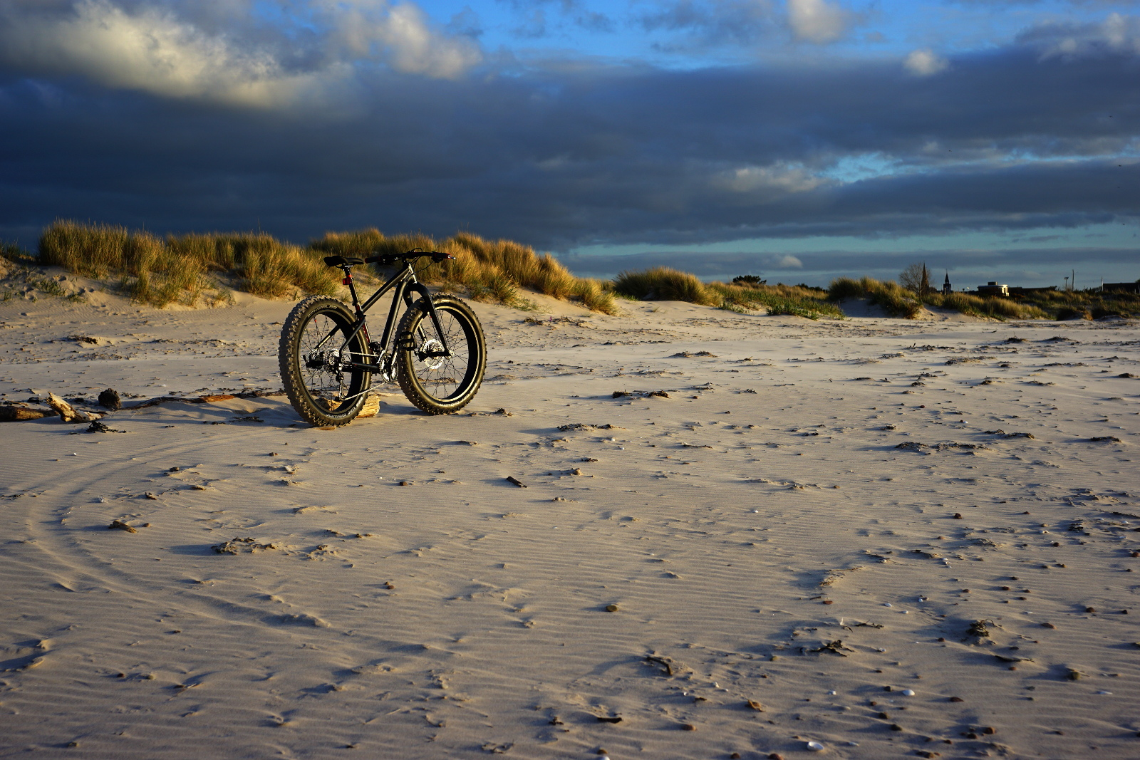 Felt DD70 on Nairn beach