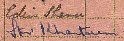 Albert Cox RAF postings in Africa