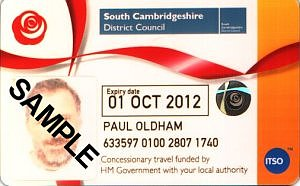 Paul's bus pass