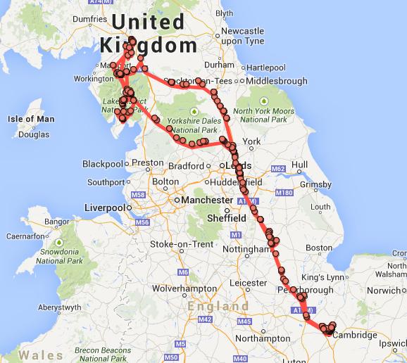 My Google Location June 2014