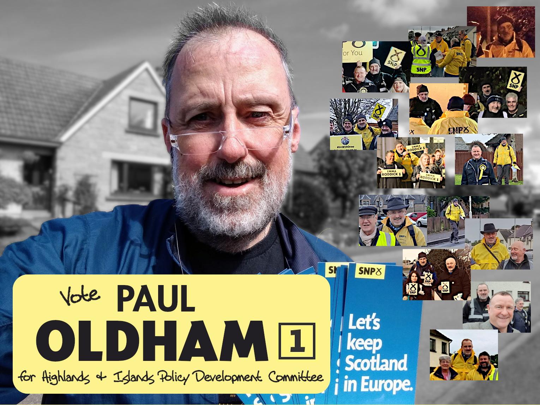 Vote Paul Oldham [1]