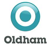 Oldham's new logo
