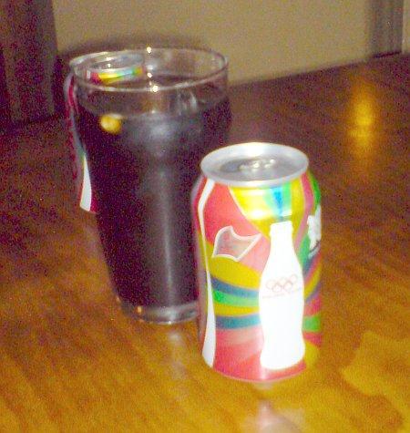 Diet Pepsi with 2012 logo