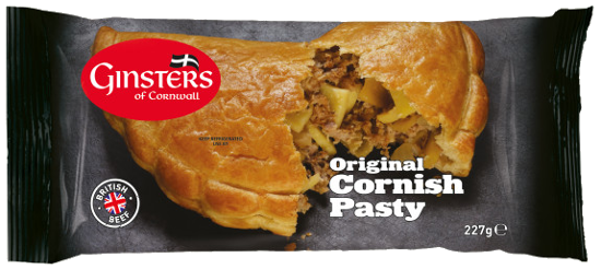 Ginsters Pasty