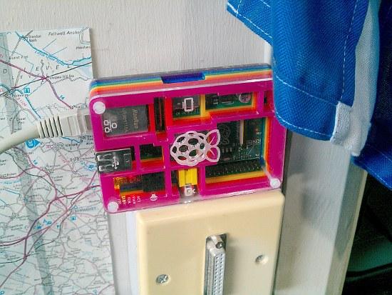 Raspberry Pi running as server