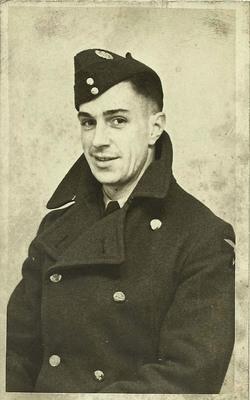 Albert Cox in RAF