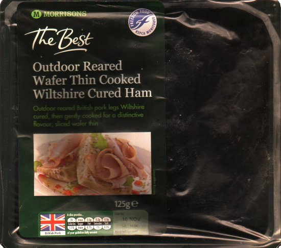 Morrisons Outdoor Reared Wiltshire Ham