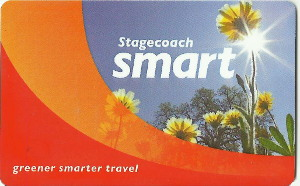 Stagecoach Smart card - front