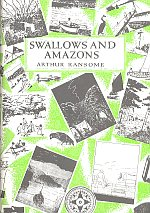 Swallows and Amazons hardback book cover